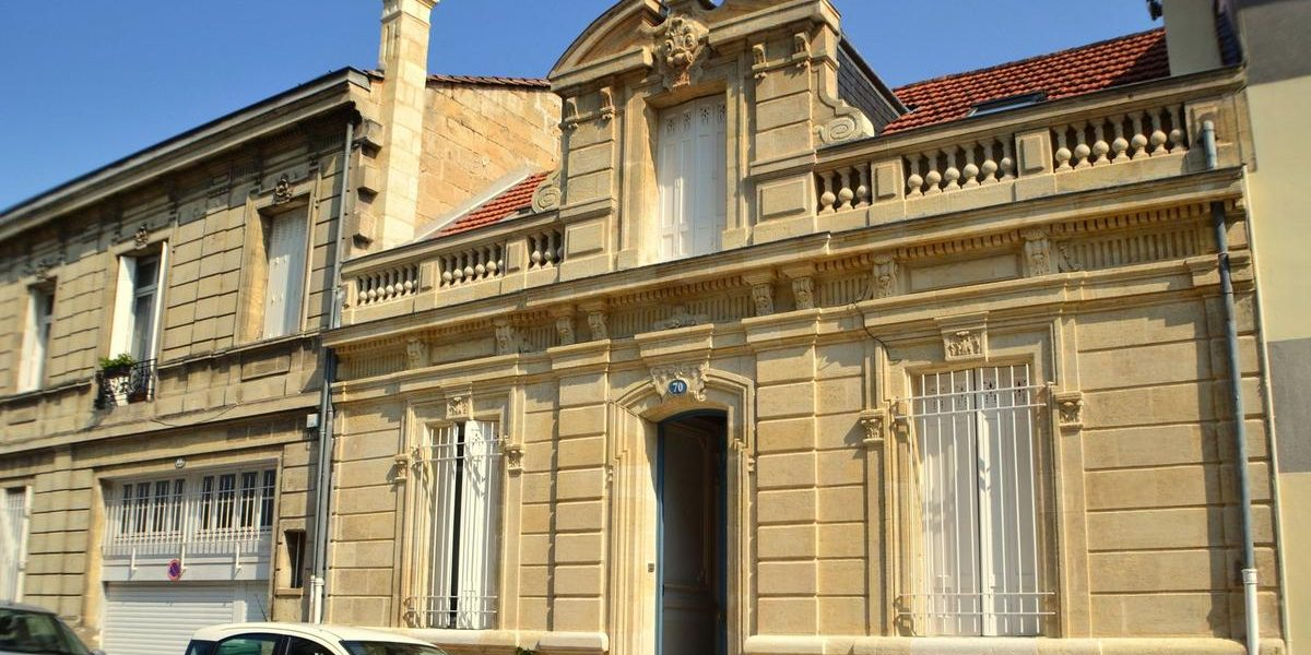 échoppe double dans le quartier saint Genès Bordeaux centre