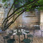 La terrasse de l'envers du décor à St Emilion