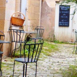 Terrasse à St Emilion